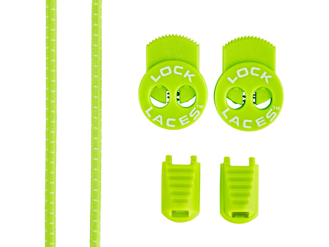Lock Laces Run Laces, sour green apple